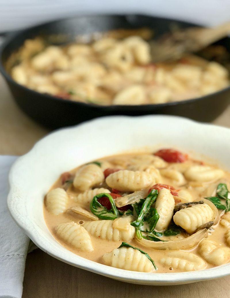Red Thai Curry Gnocchi