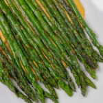 asparagus with harissa cashew sauce